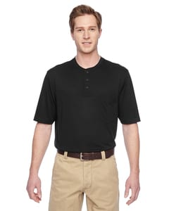 Harriton M400 - Adult Prime Short-Sleeve Performance Henley