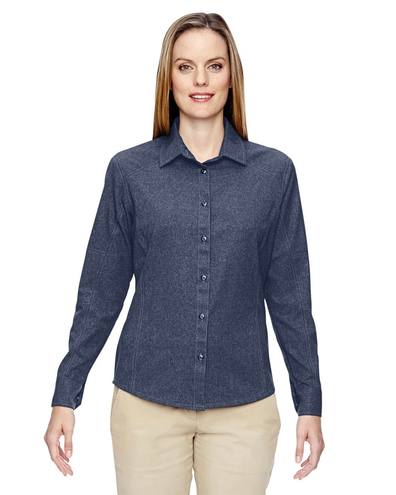 Ash City North End 77045 - Ladies Excursion Utility Two-Tone Performance Shirt
