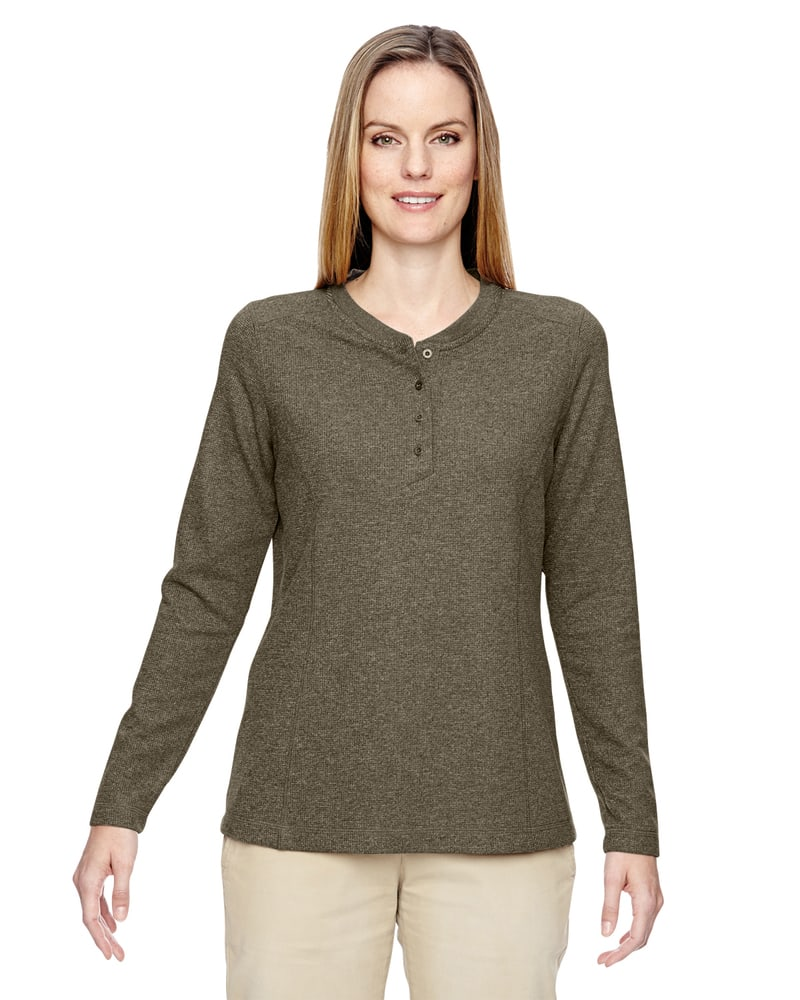 Ash City North End 78221 - Ladies Excursion Nomad Performance Waffle Henley