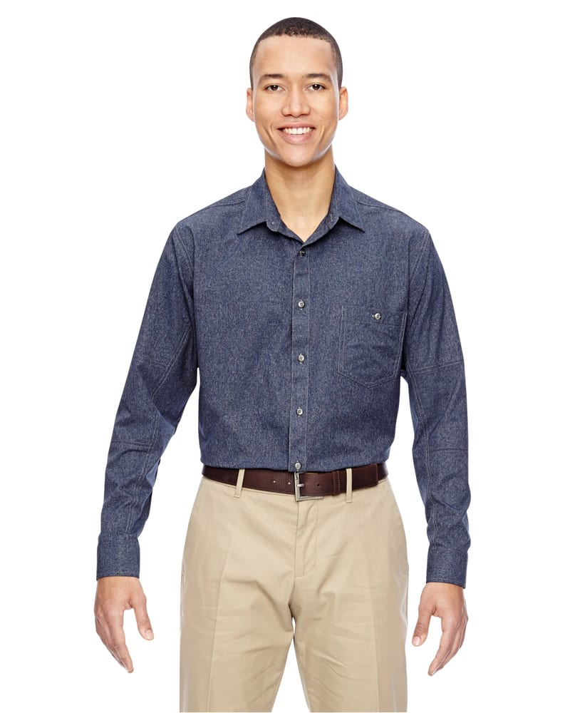 Ash City North End 87045 - Men's Excursion Utility Two-Tone Performance Shirt