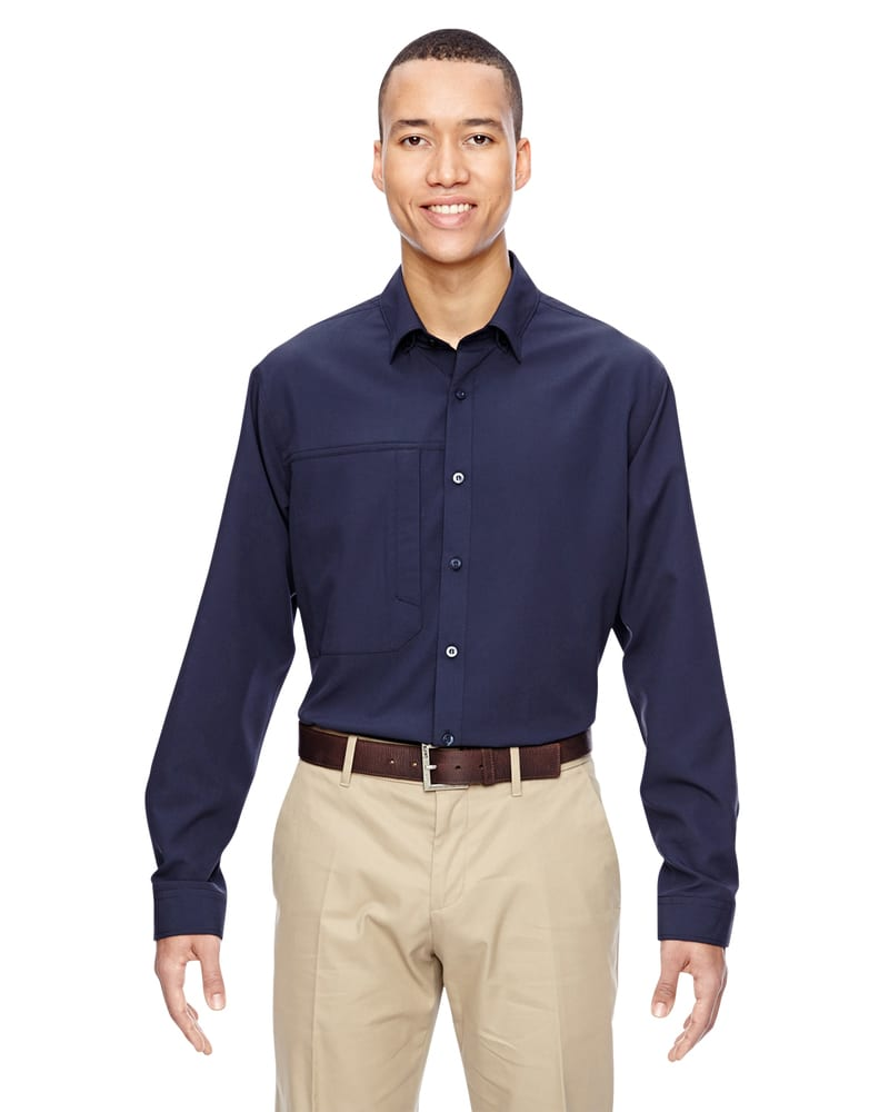 Ash City North End 87047 - Men's Excursion Concourse Performance Shirt