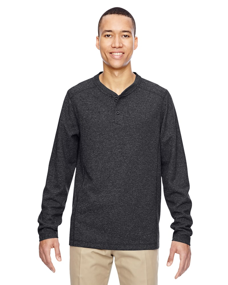 Ash City North End 88221 - Men's Excursion Nomad Performance Waffle Henley
