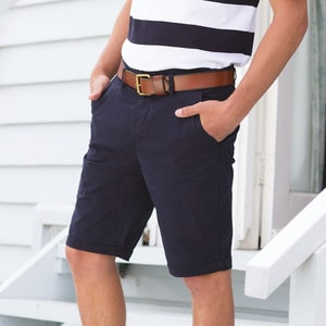 Front Row FR605 - Stretch chino shorts tagless