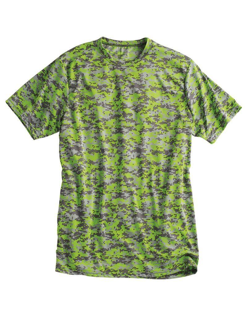 Augusta Sportswear 1798 - Remera de camuflaje digital absorbente
