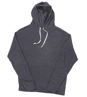J. America J8871 - Adult Tri-Blend Fleece Pullover Hood
