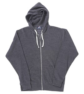 J. America J8872 - Adult Tri-Blend Fleece Full-Zip Hood