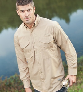 Hilton LSFISH - Outdoor By Long Sleeve Fishing Shirt