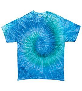 Colortone T1001Y - Remera teñida multicolor para jóvenes