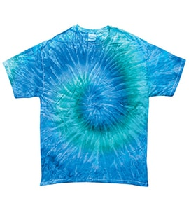 Colortone T1001Y - Multi Color Tie Dye Youth Tee