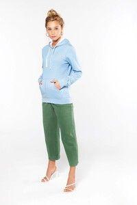 Kariban K465 - Felpa donna con cappuccio a contrasto