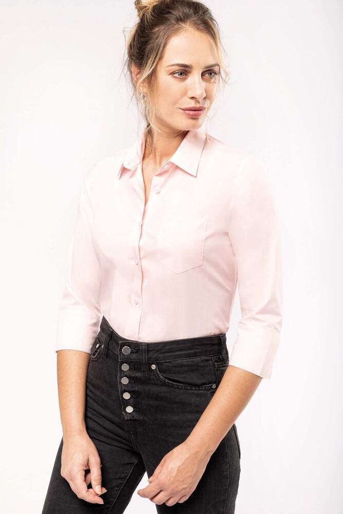 Kariban K558 - Camisa con mangas 3/4 para mujer