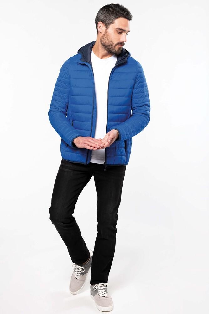 Kariban K6110 - Men's lightweight hooded down jacket
