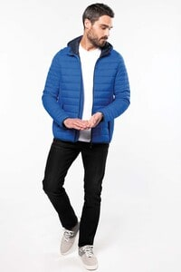 Kariban K6110 - Mens lightweight hooded down jacket