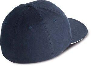 K-up KP901 - FLEXFIT® CAP WITH CONTRASTING SANDWICH PEAK- 6 PANELS