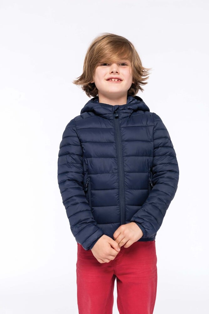 Kariban K6112 - Kids' lightweight hooded down jacket