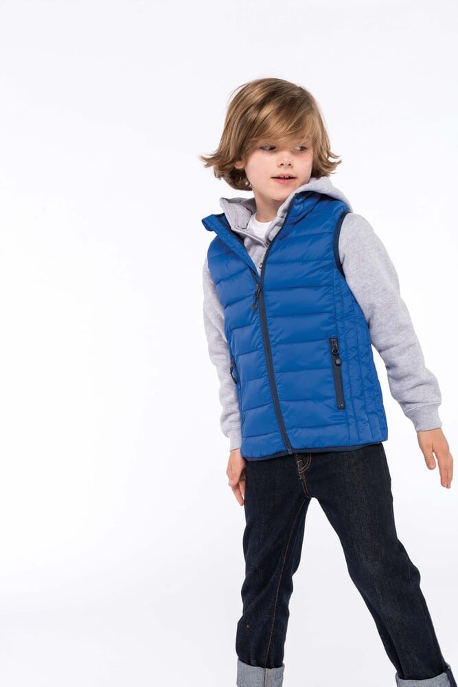 Kariban K6115 - Kids' lightweight sleeveless down jacket