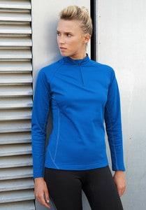 Proact PA336 - Damen-Laufsweatshirt mit 1/4-Reißverschluss