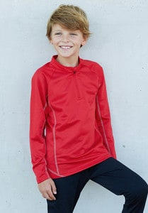 Proact PA346 - Sweat running 1/4 zip enfant