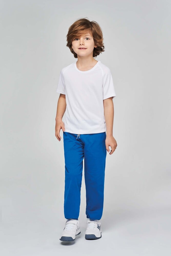 Proact PA187 - Kids' lightweight cotton jogging pants.