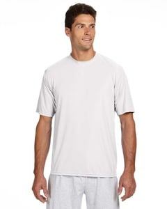 A4 N3142 - Mens Shorts Sleeve Cooling Performance Crew Shirt