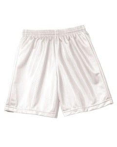 """A4 NB5301 - Short de malla de tricot con entrepierna de 6"""" para niños"""