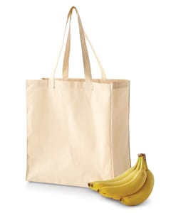 BAGedge BE055 - 6 oz. Canvas Grocery Tote