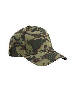Big Accessories BX024 - Structured Camo Hat