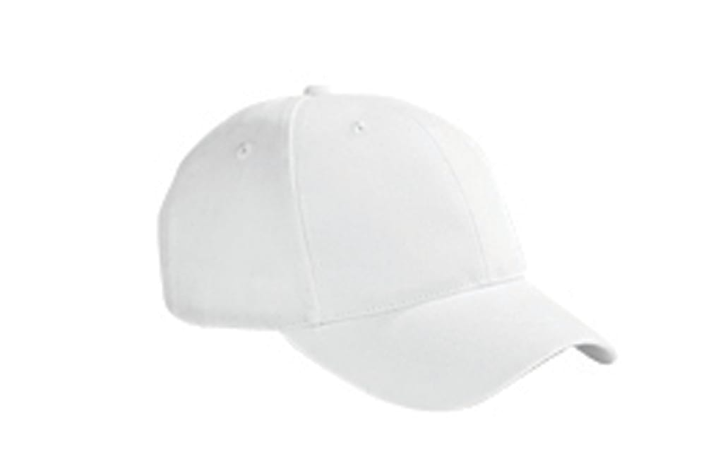 Big Accessories BX002 - 6-Panel Brushed Twill Structured Cap