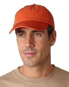 Adams LP104 - 6-Panel Low-Profile True Color Twill Cap