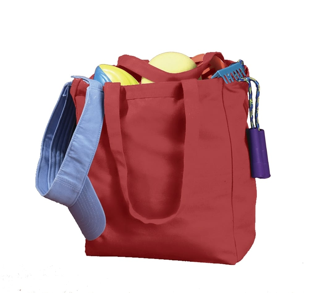 BAGedge BE008 - 12 oz. Canvas Book Tote