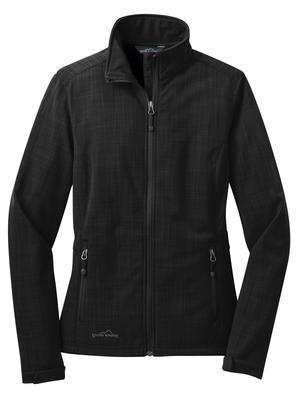 Eddie Bauer EB533 - Shaded Crosshatch Soft Shell Ladies' Jacket