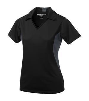 Coal Harbour L4001 - Snag Resistant Colour Block Ladies' Sport Shirt