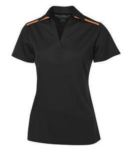 Coal Harbour L4008 - Everyday Colour Block Ladies Sport Shirt