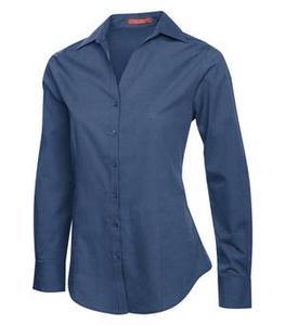 Coal Harbour L6004 - Textured Ladies Woven Shirt