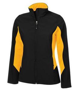 Coal Harbour L7604 - Everyday Colour Block Soft Shell Ladies Jacket