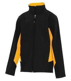 Coal Harbour Y7604 - Everyday Colour Block Soft Shell Youth Jacket