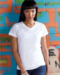 SubliVie 1507 - Womens V-Neck Polyester T-Shirt