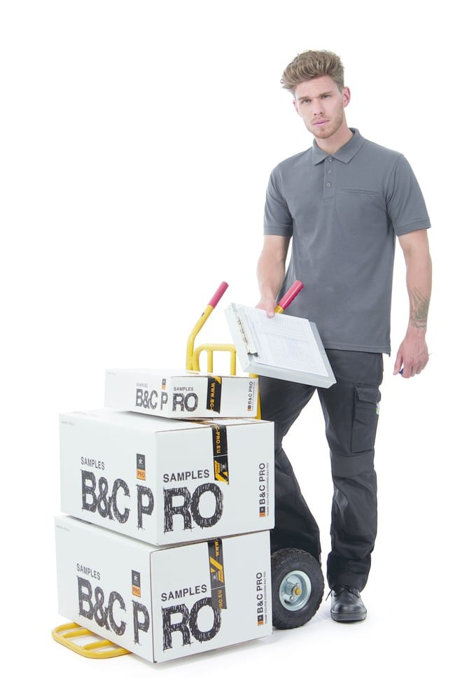 B&C Pro BC825 - Polo Manches Courtes Homme