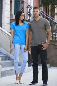 Gildan GN41V - Premium Cotton V Neck