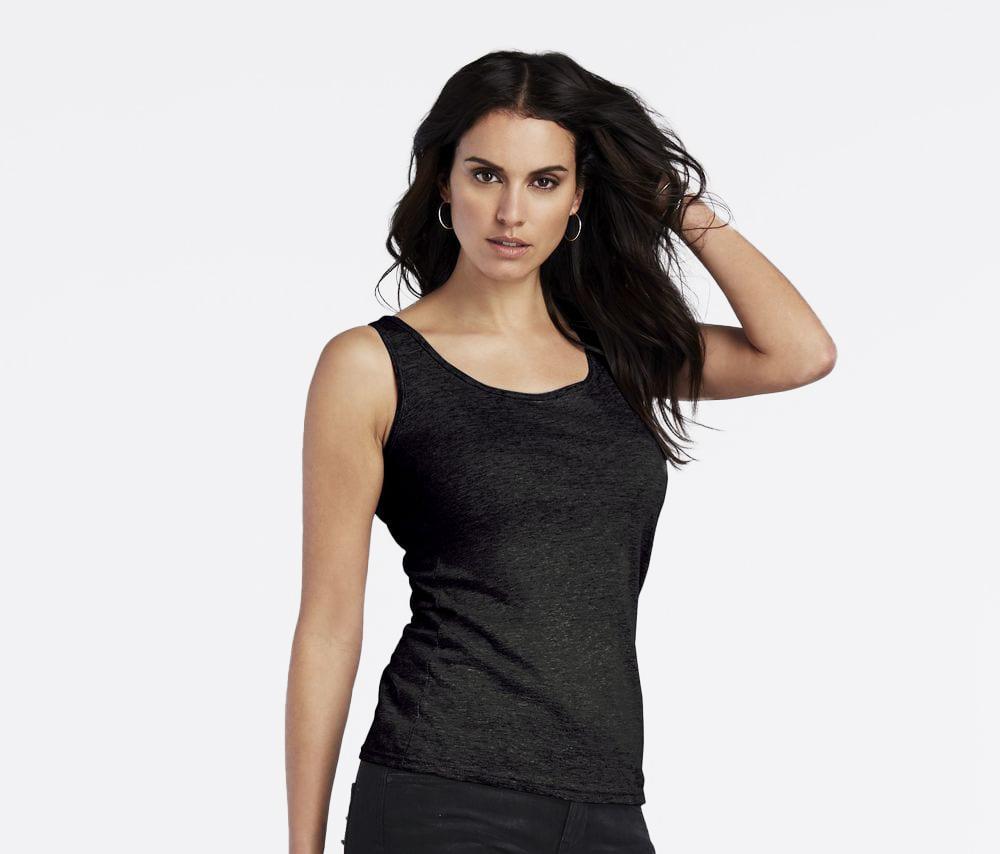 Gildan GN642 - Softstyle ™ mouwloos hemd voor dames