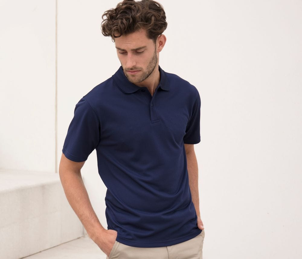 Henbury HY475 - Men's Cool Plus Polo Shirt