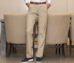 Henbury HY602 - Ladies Flat Front Chino Trousers