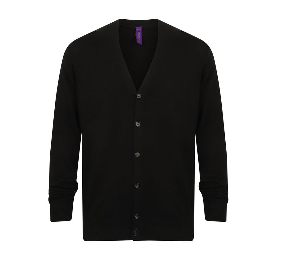 Henbury HY722 - V-button cardigan