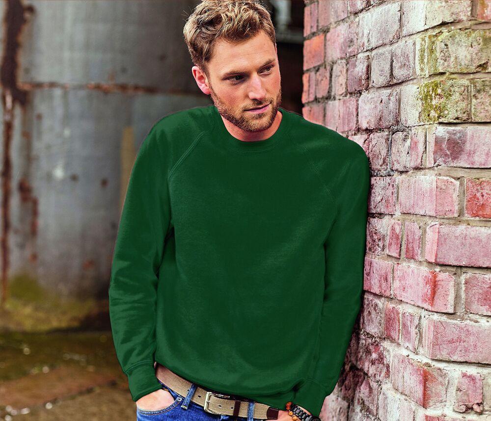 Russell JZ762 - Men's Raglan Sleeve Sweatshirt
