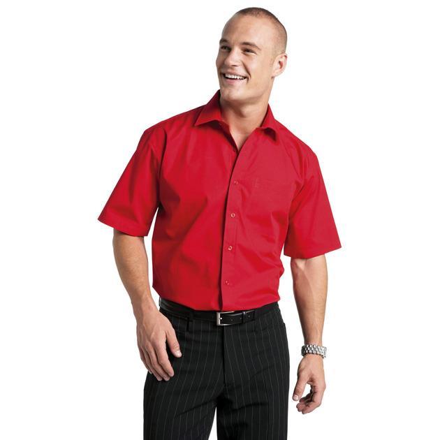 Russell Collection JZ937 - Cotton Poplin Shirt