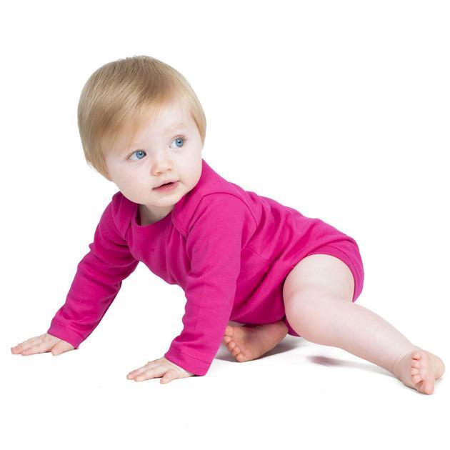 Larkwood LW052 - Long Sleeves Baby Bodysuit