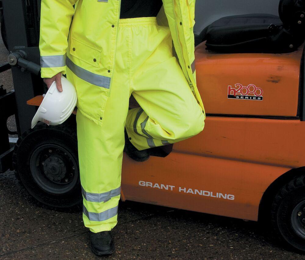 Result RS022 - Pantalon De Pluie Homme Haute Visibilité