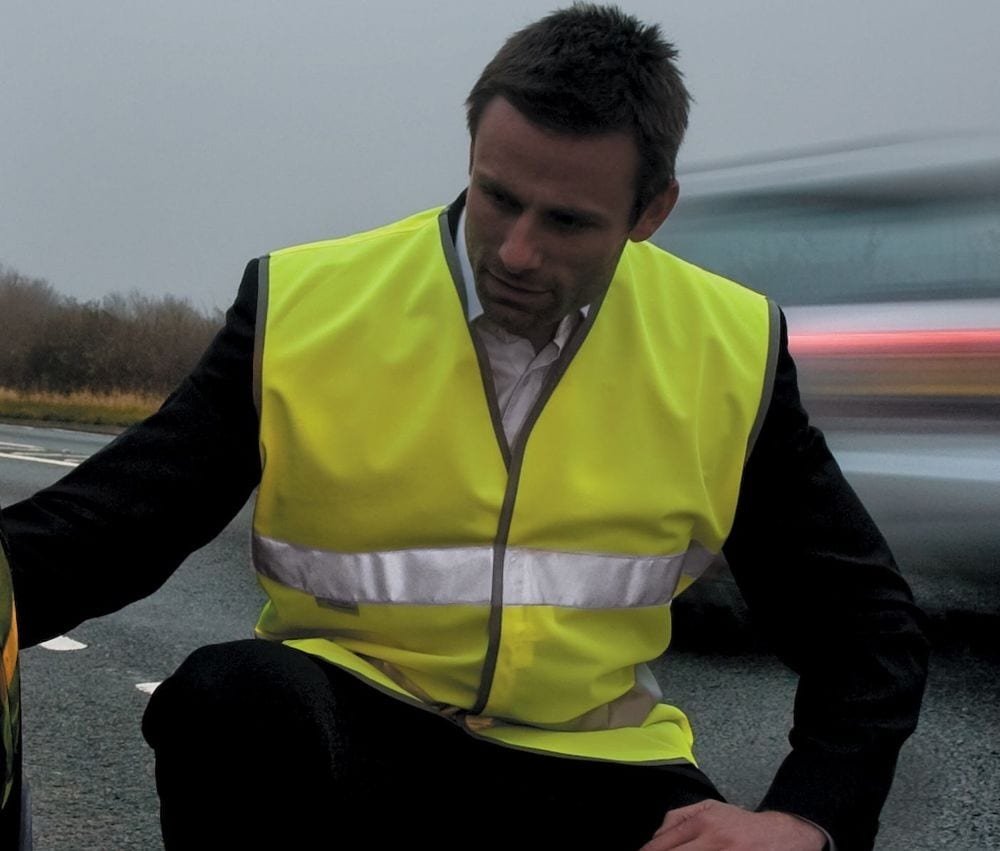 Result RS211 - Safe-Guard Motorist Hi-Vis Safety Vest