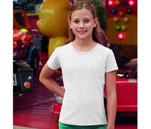 Fruit of the Loom SC229 - Girls Valueweight T-Shirt