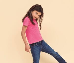 Fruit of the Loom SC229 - Girls valueweight tee
